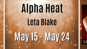 REVIEW TOUR with GIVEAWAY: 'Alpha Heat' by Leta Blake