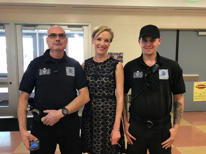 American Activist Cecile Richards with EMEK