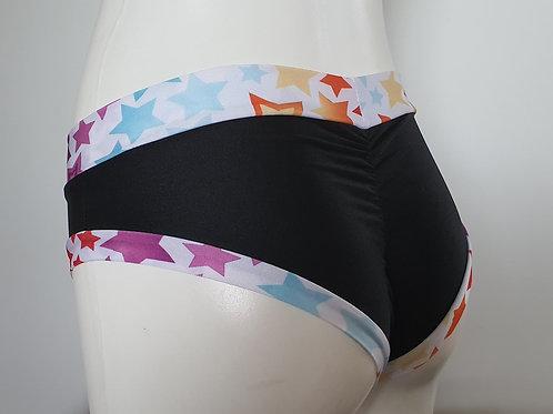 Starry Black Hotpants