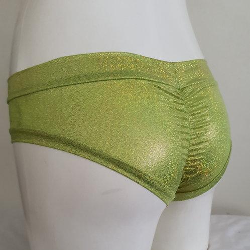 Lime Sparkle Hotpants