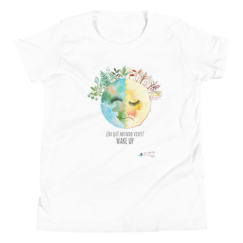 Camiseta adolescente 'Wake up'