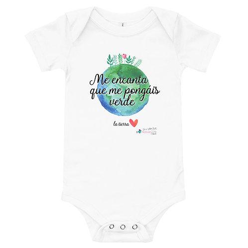 Baby bodysuit 'Planet lover'