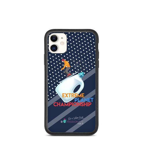 Biodegradable navy blue 'Plastic Championship' covers