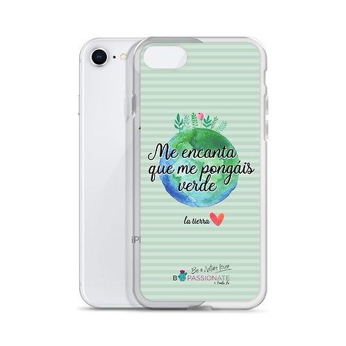 Fundas para iPhone verdes 'Planet lover'
