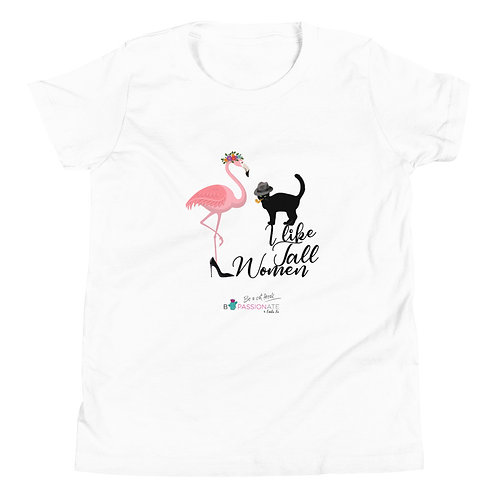 Camiseta adolescente 'Cat in love'