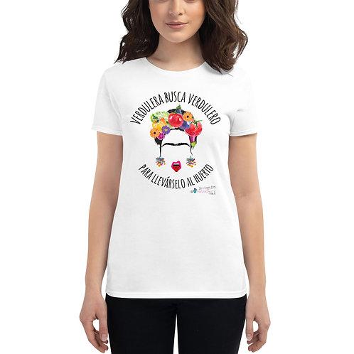 Camiseta mujer 'Veggie lover' modelo 1