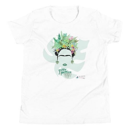 Camiseta adolescente 'Green Fashion'