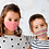 Thumbnail: Reusable with colored stripes 'The smart dog' mask