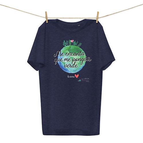 Camiseta algodón orgánico 'Planet lover'