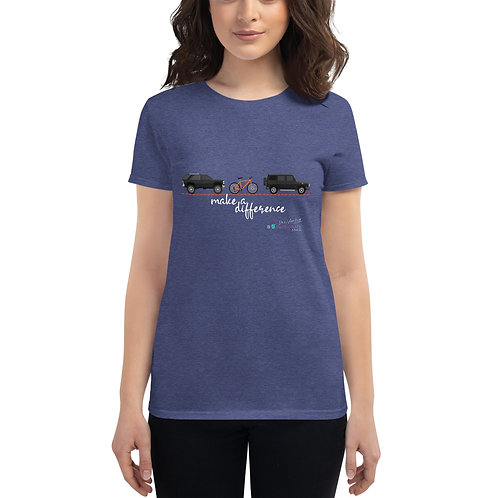 Camiseta mujer 'Make a difference'