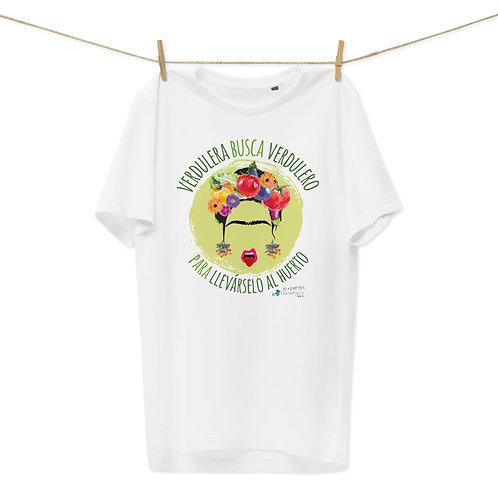 Camiseta algodón orgánico 'Veggie lover'
