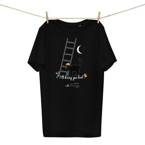 Camiseta algodón orgánico 'Lucky cat'