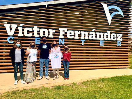BPassionate & the three-times World Windsurf Champion Víctor Fernández surf together against plastic