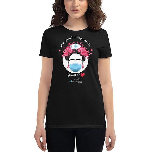 Camiseta mujer 'Adiós Coronita'