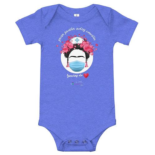 Baby bodysuit 'Bye bye Corona'