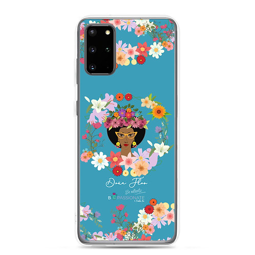 Fundas para Samsung azules 'Doña Flor'