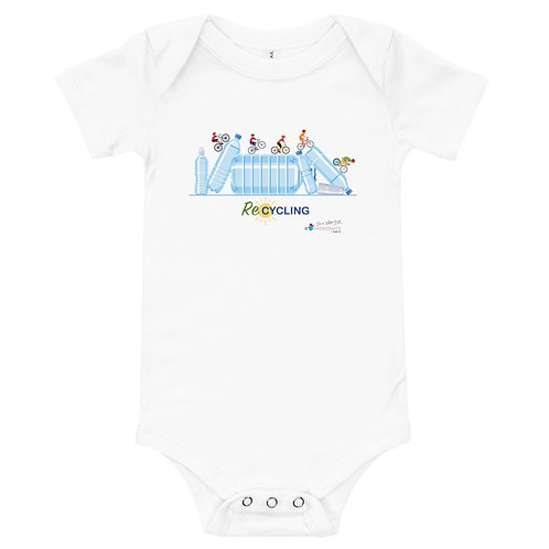 Baby bodysuit 'Re-Cycling'