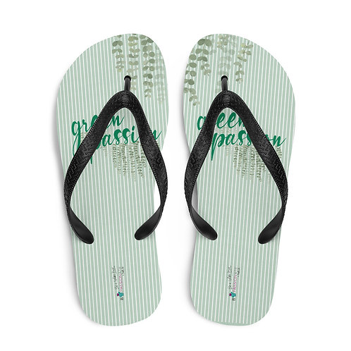 Chanclas verdes 'Green Passion'