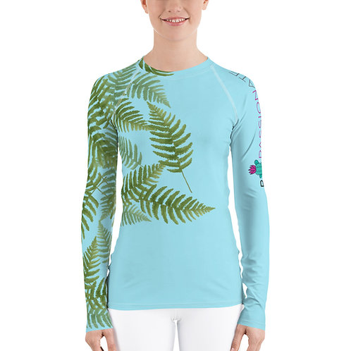 Women's compression top 'Green Passion'