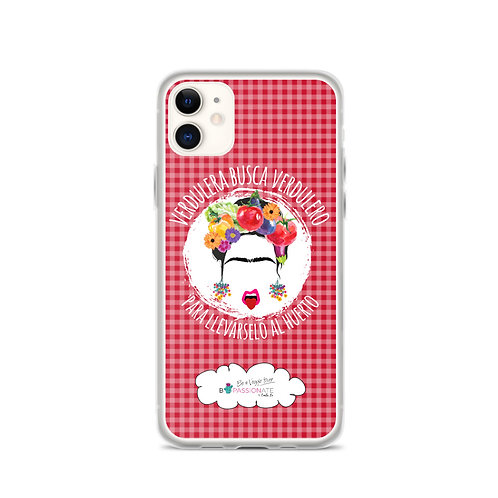 Fundas para iPhone rojas 'Veggie lover'
