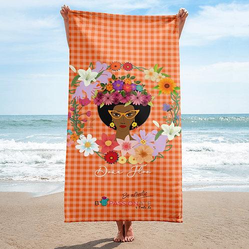 Toalla naranja 'Doña Flor'