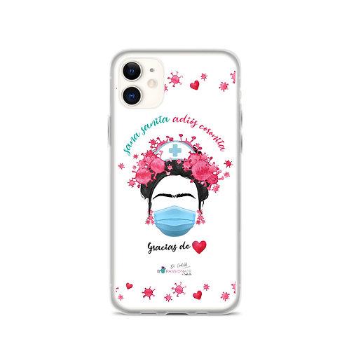 White 'Goodbye Corona' iPhone cases