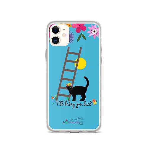 Blue 'Lucky cat' iPhone cases