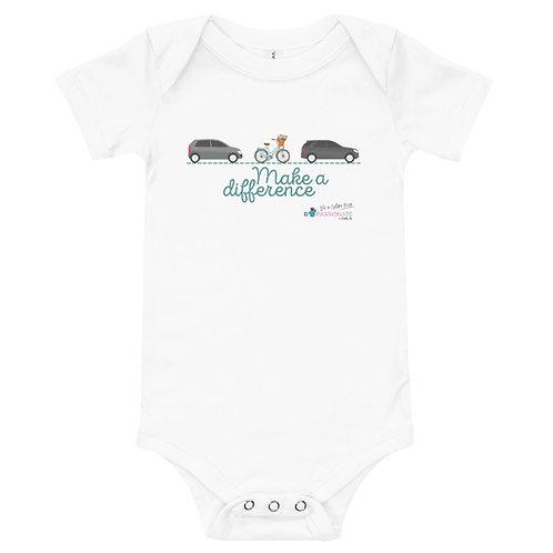 Body bebé  'Make a difference'