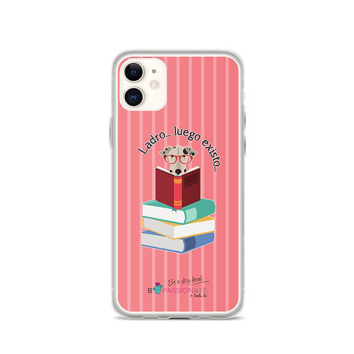 Coral 'The Smart Dog' iPhone Cases