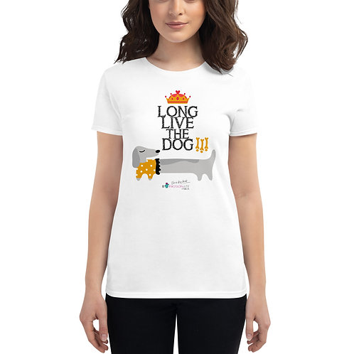 Camiseta mujer 'Long live the dog'