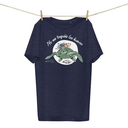 Camiseta algodón orgánico 'Tortuga cojonuda 2'