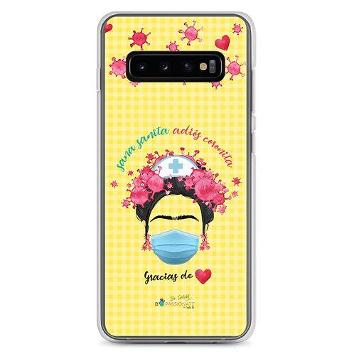 Samsung Cases 'Bye bye Corona'