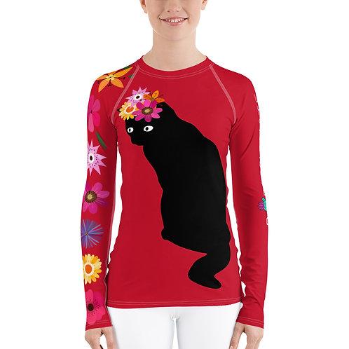 Top compresión mujer 'Lucky cat'