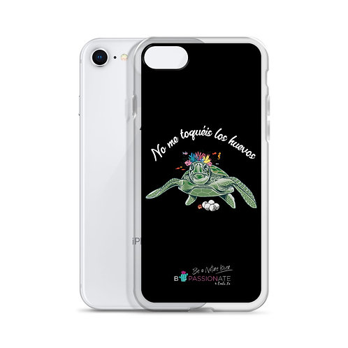 Black 'Great turtle' iPhone cases