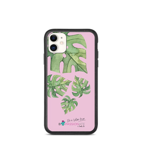 Biodegradable pink leaves 'Green Passion' covers