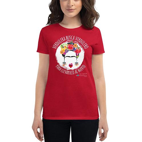Camiseta mujer 'Veggie lover'