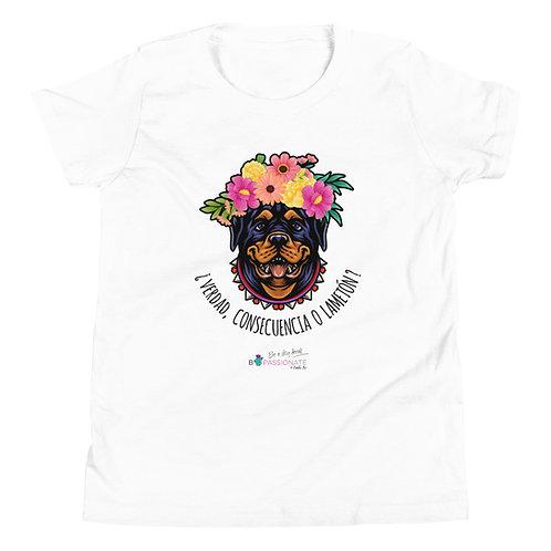 Teen T-shirt 'Loving Dog'