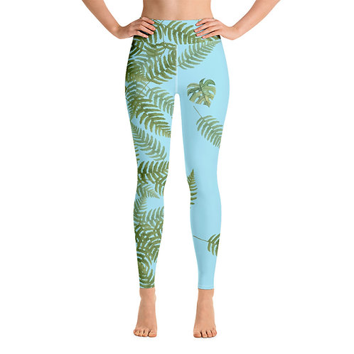 Leggings yoga 'Green Passion' modelo 3