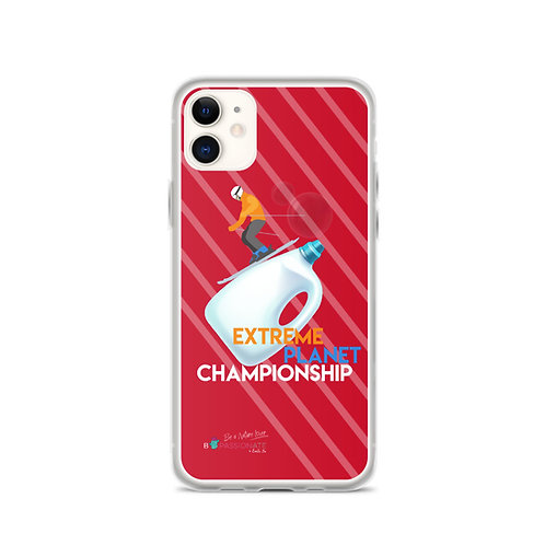 Fundas para iPhone rojas 'Plastic Championship'