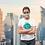 Thumbnail: Green reusable 'Planet lover' mask