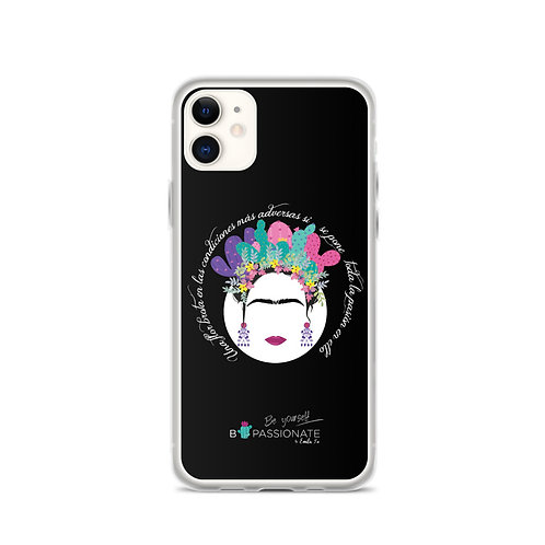 Fundas para iPhone negras 'B Yourslef'