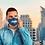 Thumbnail: Reusable navy blue 'Re-Cycling' mask