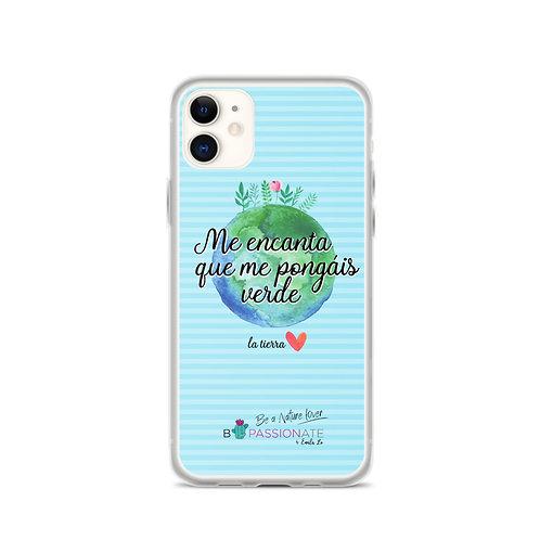 Fundas para iPhone azules 'Planet lover'