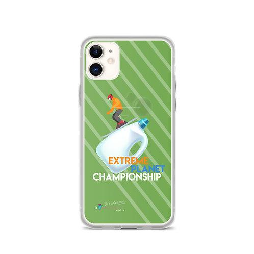 Green 'Plastic Championship' iPhone Cases