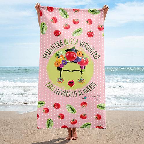 Toalla rosa 'Veggie lover'