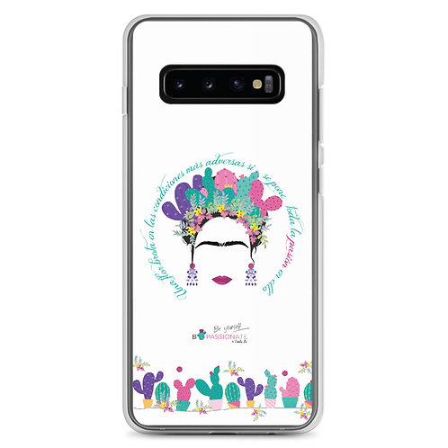 Fundas para Samsung blancas 'B Yourself'