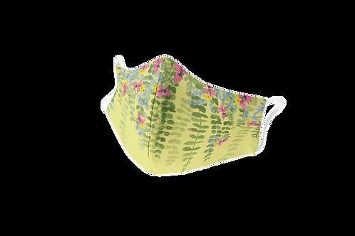 Mascarilla reutilizable amarilla 'Green Passion'