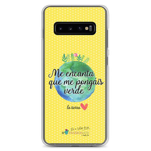 Fundas para Samsung amarillas 'Planet lover'
