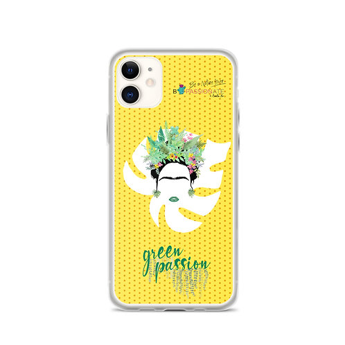 Fundas para iPhone amarilla 'Green Fashion'