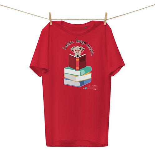 Camiseta algodón orgánico 'El perro inteligente'